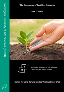 CLTS Working Paper on the Economics of Fertilizer Subsidies | Norges