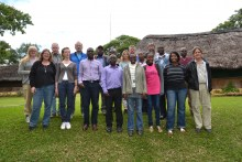 Participants at the annual technical meeting, 14 - 18 April 2015, Nsobe, Zambia.