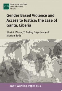 thesis on gender based violence Make women more vulnerable to sexual and gender based violence, and the   pdf (dissertation submitted to queen margaret university,.