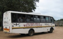 Southern Africa Wildlife College bus