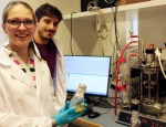Kiira Vuoristo and David Lapeña Gomez will be using the new biorefinery.